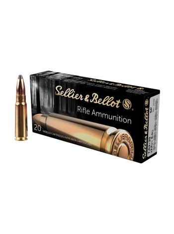 Набій нарізний Sellier&Bellot 7.62х39 куля SP / 8 г (123 gr)