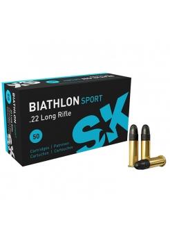 Набій нарізний SK Biathlon Sport .22LR / куля LRN / 2.59 г, 40 gr