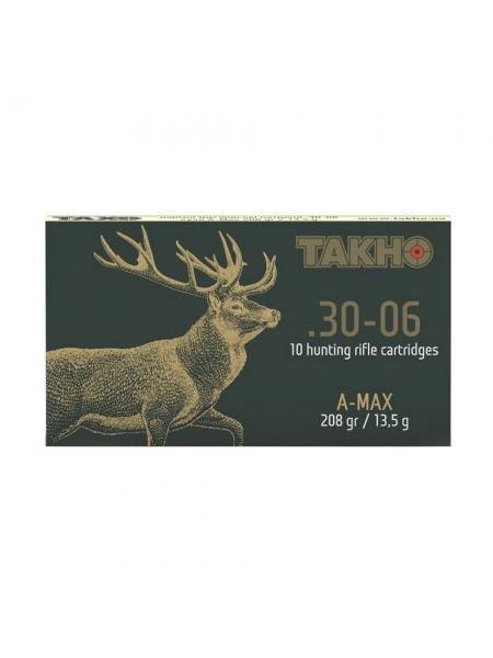 Набій нарізний Тахо .30-06 Sprg (7.62x63) куля A-MAX / 13.5 г (208 gr)