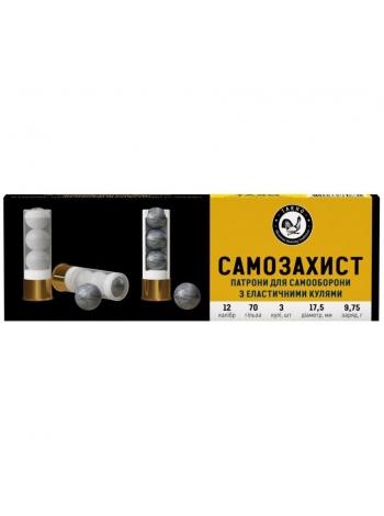 Набій Тахо «Самозахист» 12/70, куля 17.5 мм, 9.75 г