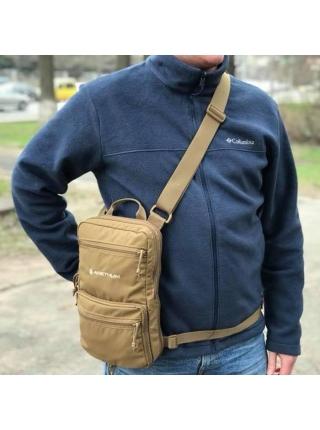 Сумка-рюкзак Anethum Jazz / колір: койот