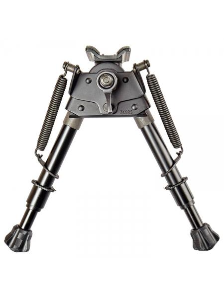 "Сошки XD Precision EZ Pivot & Pan Notched Legs 6-9"" (ступінчасті ножки) / 16.5-23.5 см"