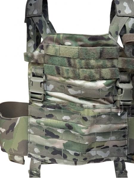 Жилет (плитоноска) TurGear JagdPanzerklein III, розмір L-M / Multicam
