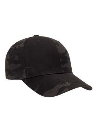 Кепка YP Flexfit Hat – Black Multicam / розмір S/M