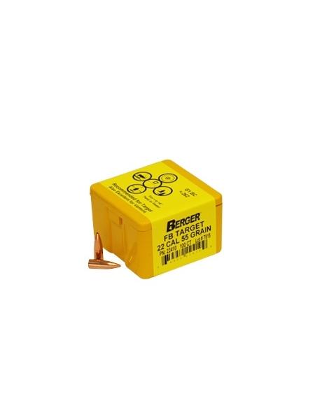 Куля Berger Match Grade Target / .22 / 3.56 г, 55 gr