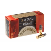 Набій нарізний Federal Premium Gold Medal HV Match .22LR (.22 Long Rifle) / 2.59 г, 40 gr