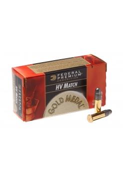 Набій нарізний Federal Premium Gold Medal HV Match .22LR (.22 Long Rifle) / 2.59 г, 40 gr