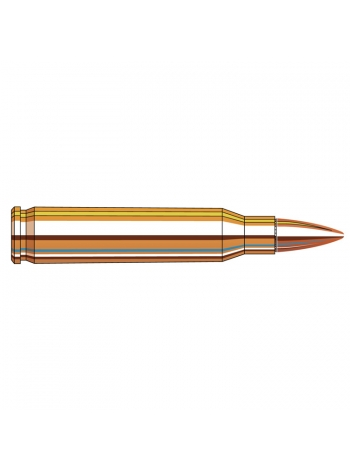 Набій нарізний Hornady Frontier .223 Rem (5.56x45) FMJ / 4.02 г, 62 gr