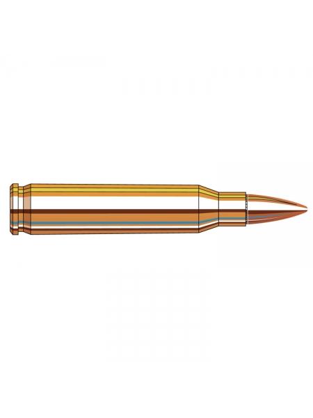 Набій нарізний Hornady Frontier .223 Rem (5.56x45) FMJ / 3.56 г, 55 gr