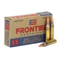 Набій нарізний Hornady Frontier .223 Rem (5.56x45) HP Match / 3.56 г, 55 gr