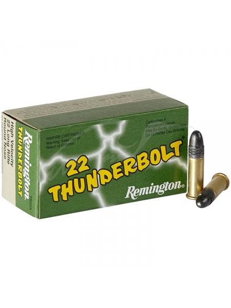 Набій нарізний Remington Thunderbolt High Speed .22LR / куля RN / 2.6 г, 40 gr