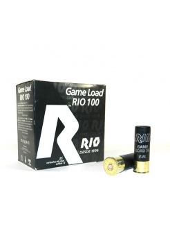 Набій мисливський RIO Game Load-36 FW (RIO 100) 12/70 / без контейнера / дріб №3 (3.5 мм), 36 г