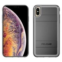 Чохол Pelican Protector +AMS для iPhone XS Max / чорний/сірий