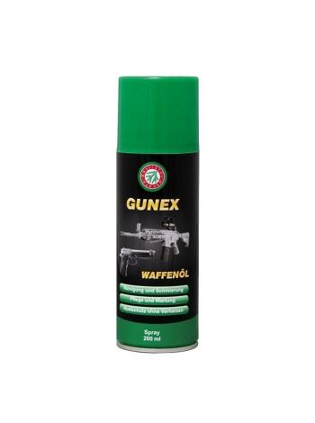 Масло збройове Ballistol Gunex-2000, 200 мл / спрей