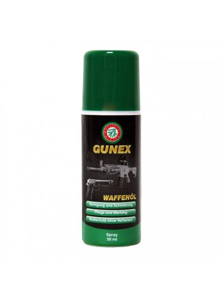 Масло збройове Ballistol Gunex-2000, 50 мл / спрей