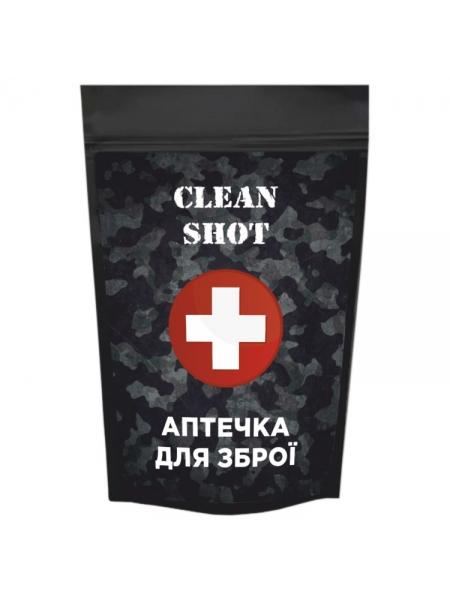Набір серветок для чищення зброї Clean Shot «Аптечка для зброї»