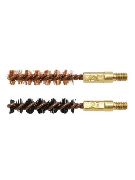 Набір йоржиків OTIS .27 Bore Brush 2 Pack (бронзовий і нейлоновий)