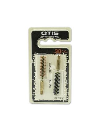 Набір йоржиків OTIS .30 Bore Brush 2 Pack (бронзовий і нейлоновий)