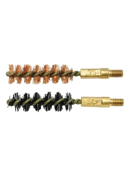 Набір йоржиків OTIS .35 Bore Brush 2 Pack (бронзовий і нейлоновий)