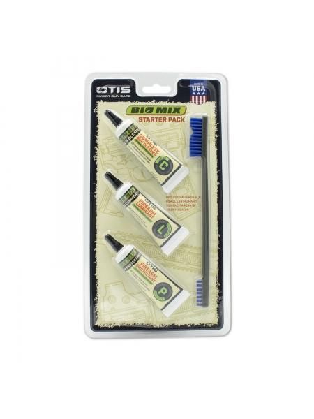Набір засобів OTIS Bio Mix Starter Pack для чищення, змащування та зберігання зброї