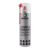 Очищувач-знежирювач аерозольний Recoil, 500 мл