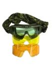 Окуляри-маска тактичні «Вій-ЕКІПАЖ» зі змінними лінзами
