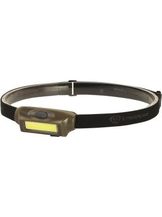Ліхтар налобний Streamlight Bandit LED USB Rechargeable / Coyote Green