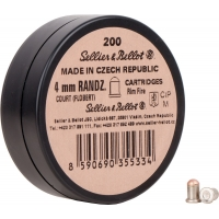 Набій Флобера Sellier & Bellot Randz Curte 4 мм, 200 шт.