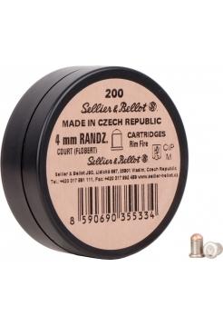 Набій Флобера Sellier&Bellot Randz Curte 4 мм, 200 шт.