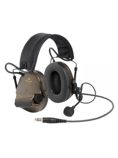 Гарнітура активна протишумова 3M Peltor ComTac XPI Headset, зелена