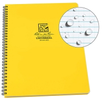 Блокнот всепогодний Rite in the Rain Side-Spiral Notebook №373 Yellow