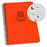 Блокнот всепогодний Rite in the Rain Side-Spiral Notebook №OR73 Orange