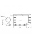 Кронштейн-моноблок Aero Precision Ultralight Scope Mount, 30 мм, 0 МОА (без нахилу)
