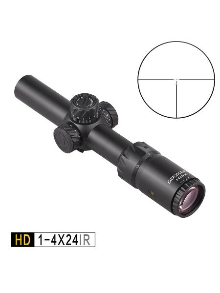 Приціл оптичний Discovery HD 1-4x24 IR