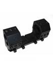 Кронштейн-моноблок МОЛОТ для кріплення оптики 30 мм, 0 МОА (без нахилу)
