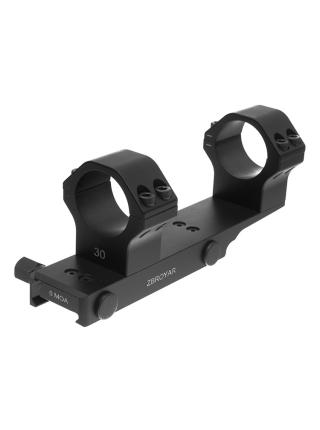 Кронштейн-моноблок ZBROYAR для кріплення оптики, 30 мм, 0 МОА (без нахилу)