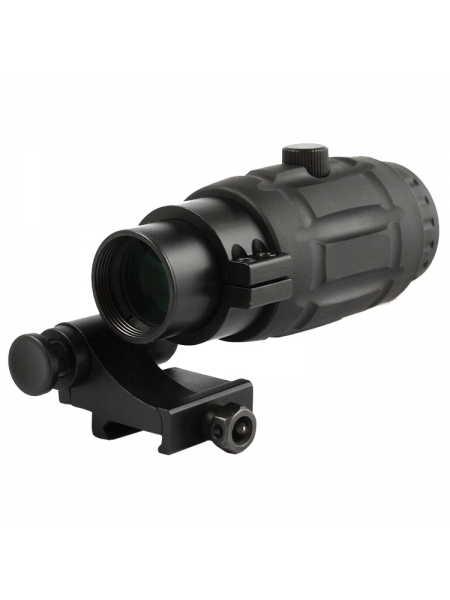 Збільшувач Vector Optics Magnifier 3X QD SCOT-07, відкидний Flip-to-Side