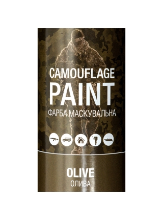 Фарба маскувальна аерозольна Recoil (ОЛИВА / OLIVE)