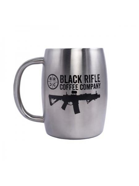 Кружка керамічна Black Rifle Coffee Company Classic Logo Stainless Steel Mug 390 мл