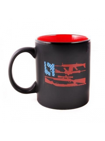 Кружка керамічна Black Rifle Coffee Company Freedom Flag Mug 300 мл