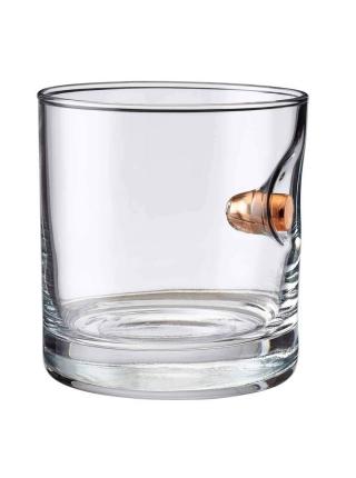 Стакан BenShot Rocks Glass з кулею .45ACP
