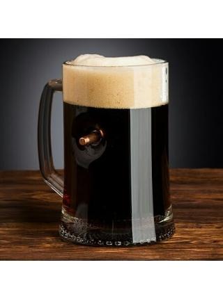 Кухоль для пива зі справжньою кулею к-ру .30-06