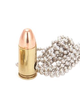 Кулон-патрон Lucky Shot 9 mm Necklace