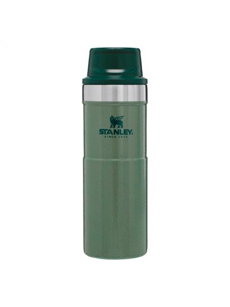 Термокружка Stanley Classic Trigger Action Travel Mug, 470 мл / Hammertone Green