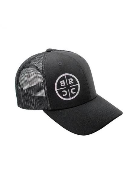 Кепка Black Rifle Coffee Company Circle Logo Trucker Hat – All Black