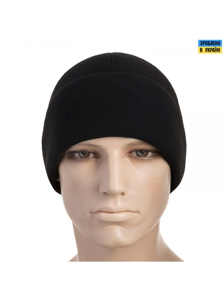 Шапка M-Tac Watch Cap With Slimtex Black S, фліс 330 г/м2
