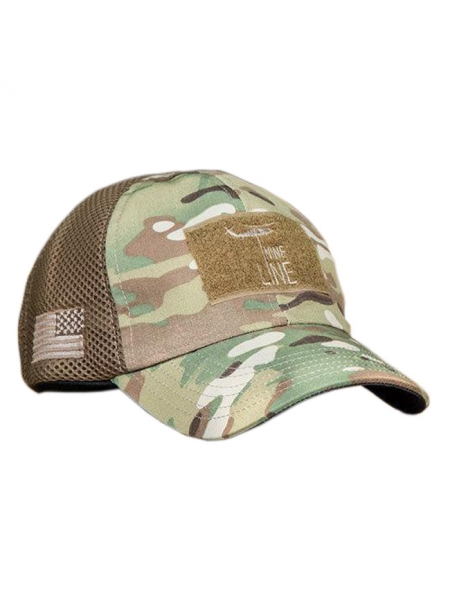 Кепка NineLine American Made Drop Line Hat – Multicam