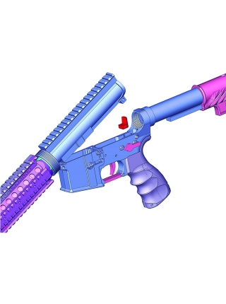 Усувач люфта Fab Defense UGC для всіх систем на базі AR15/M4/M16