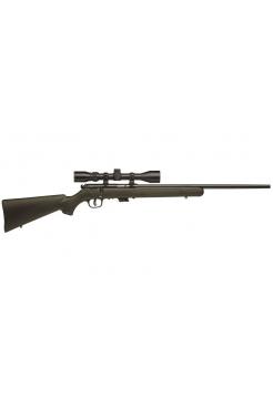 """Гвинтівка малокаліберна Savage MARK II FXP Green / .22LR / 21"""" / приціл Bushnell 3-9х40"""