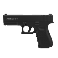 Пістолет стартовий Retay G17 9 мм / чорний